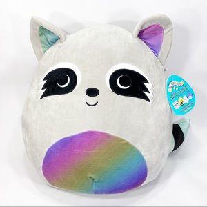 "NWT Squishmallow Max 16"" Large Plush Raccoon"